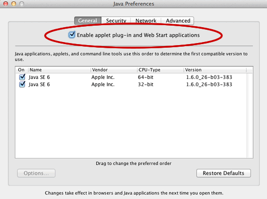 Java Preferences on Mac OSX Lion